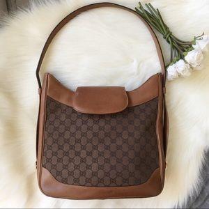 🧡 Gucci GG Canvas Shoulder Bag